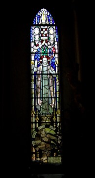 This window can be found behind the choir stalls.