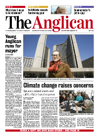 The May issue of The Anglican