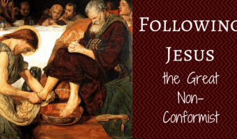 Following Jesus the Great Non-Conformist