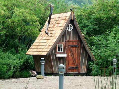 hexenhaus für garten wohnen im garten | gartenhäuser | holz bald gmbh