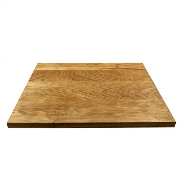 Kochfeldabdeckung - Ceranfeldabdeckung - Herdabdeckplatte aus Eichenholz
