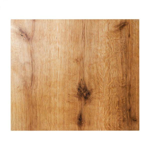 Kochfeldabdeckung - Ceranfeldabdeckung aus Eichenholz