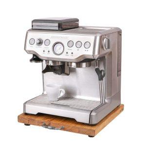 Gleitbrett - Rollbrett für Kaffeemaschine - Siebträgermaschine - Kaffeevollautomat