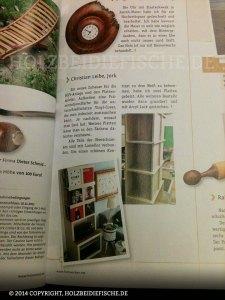 Artikel in der Holzwerken Zeitschrift