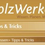 Holzwerken Website