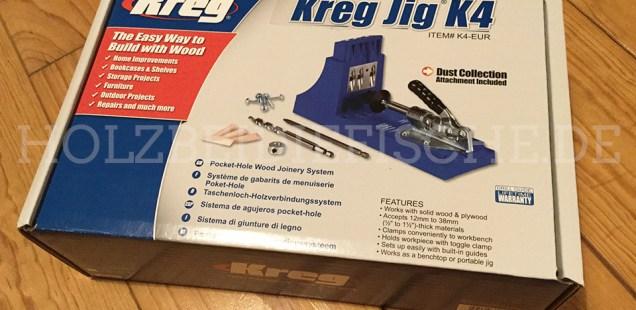 KREG K4 Kreg Jig®-Holzverbindungsystem