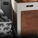 VW Bus Küchenblock - Titel