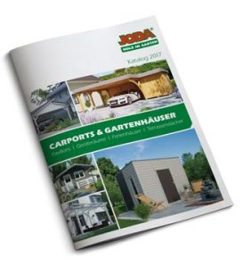 Joda Carports & Gartenhäuser Katalog ansehen