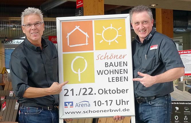Holzland Köster Aussteller Messe Schöner Bauen Wohnen Leben