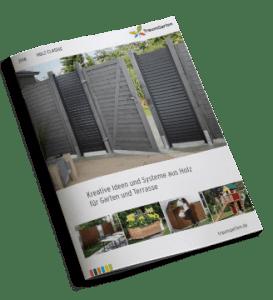 Garten-Katalog Sichtschutz, Zäune, Spiele, Müllboxen