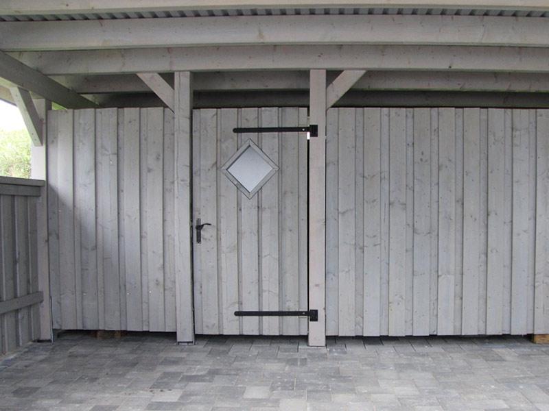 Carport Geräteschuppen