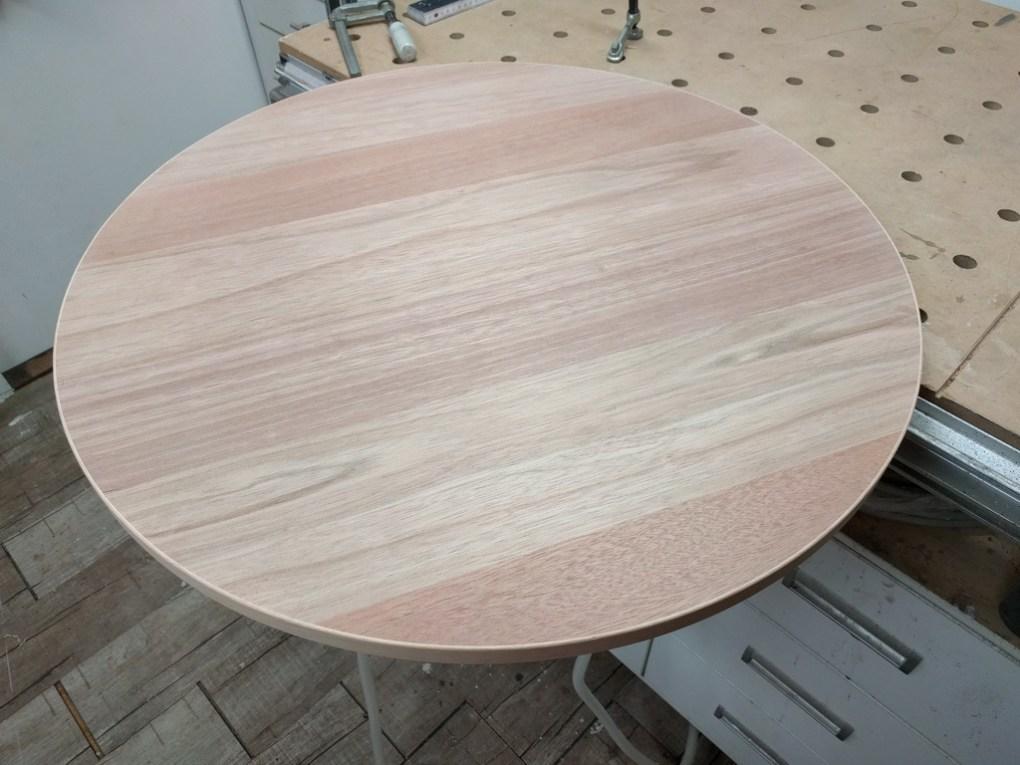 fertige Tischplatte