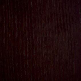 Dunkelbraun gebeizt auf Esche