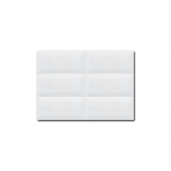 12201 White Subway Tiles