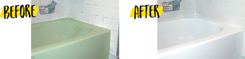 how to refinish a tub sink or tile