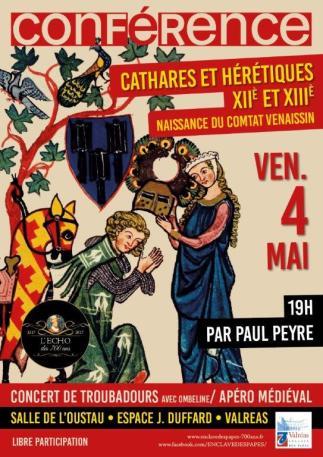 Conférence Peul Peyre - Concert Troubadours par Hombeline