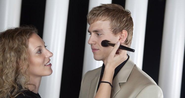 El maquillaje masculino
