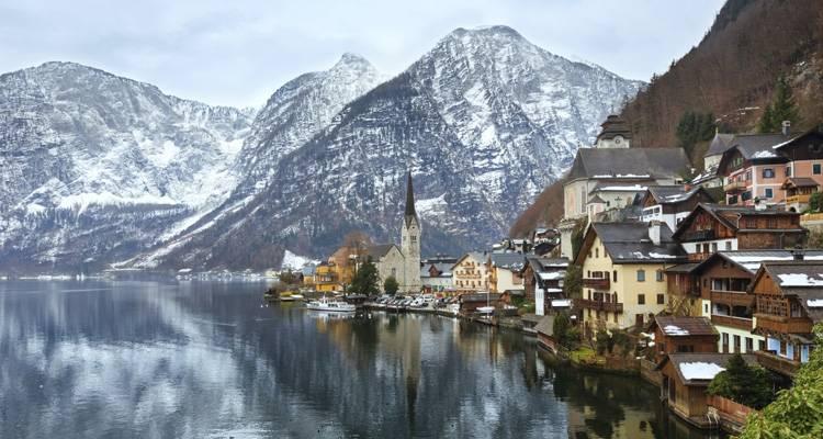 Plan invernal en Austria