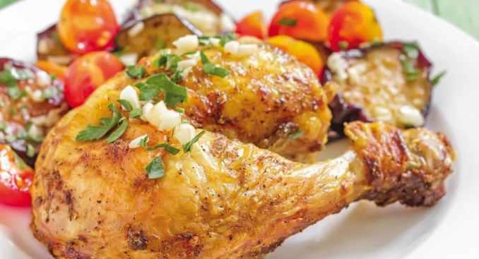 comer pollo