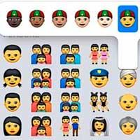 Los nuevos emoticonos de Apple