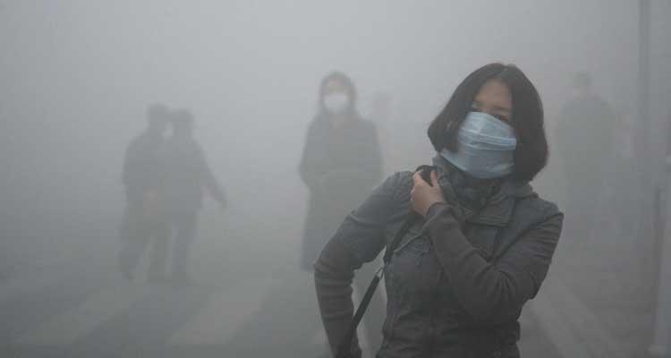 Esmog: niebla tóxica