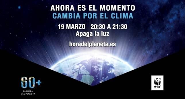 Hoy apaga las luces de 20:30 a 21:30 contra el cambio climático