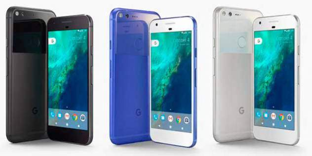 Google presenta Pixel y Pixel XL: sus nuevos teléfonos inteligentes