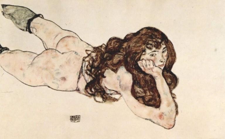 Egon Schiele: perturbadora genialidad