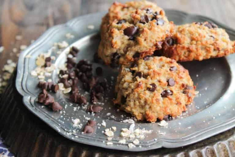 Receta saludable: galletas veganas con avena en polvo