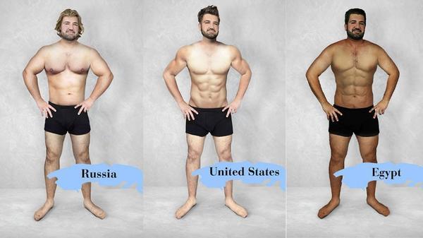 Photoshopean a este HOMBRE para ver los diferentes estándares de belleza en 19 países del mundo