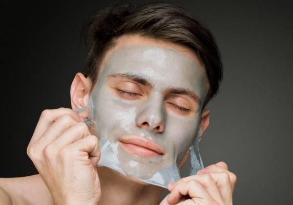 3 mascarillas faciales para hombres