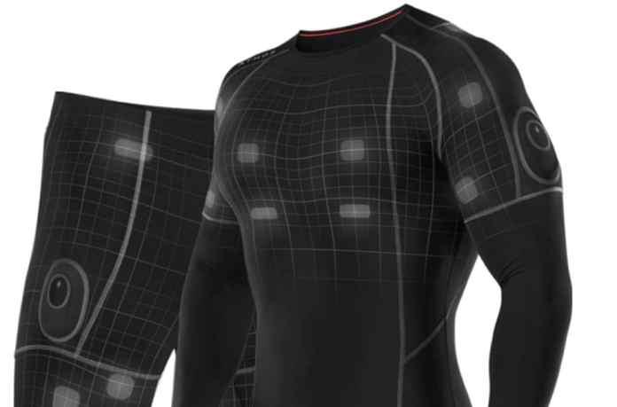 ropa inteligente tecnología