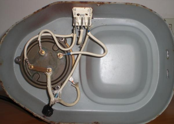 Wiring La Pavoni With White Switch Black Switch
