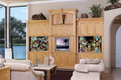 Dreams HomesInterior Design Luxury Aquariums That Turn