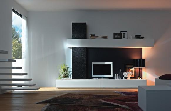 modern living wall units