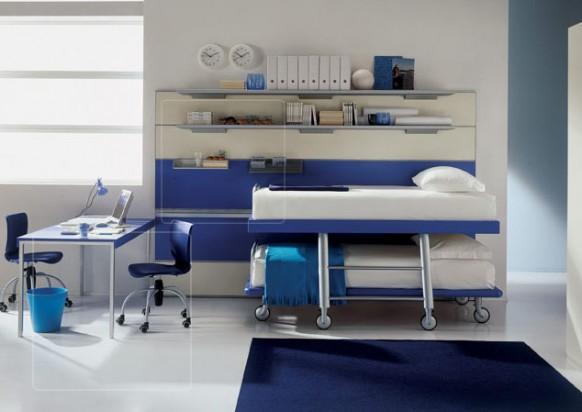 kids room twin beds