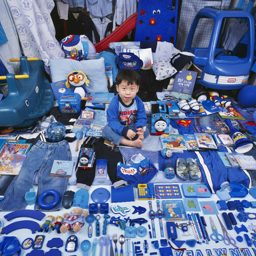blue toddlers room