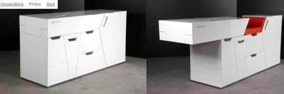 minimalist white interiors