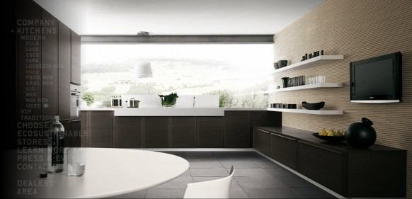 modern minimalistic kitchen