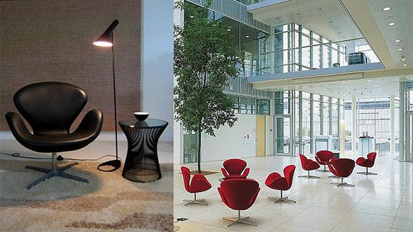 swan chair usage