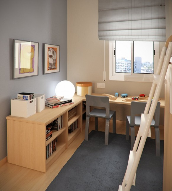 tiny childrens room