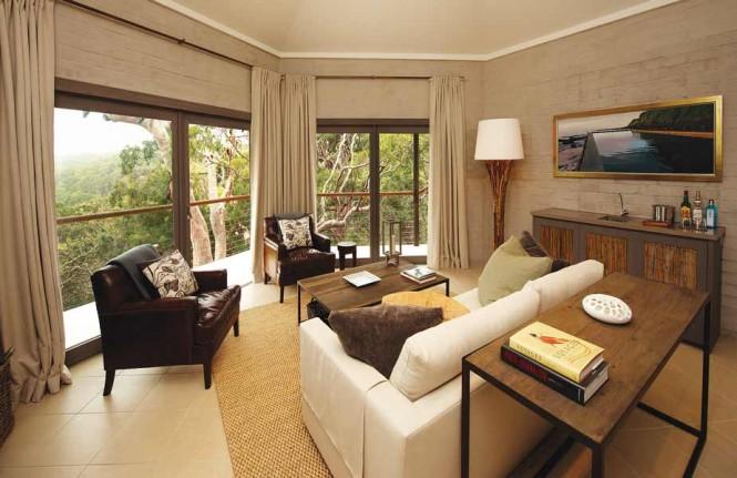 sydney beachhouse living room