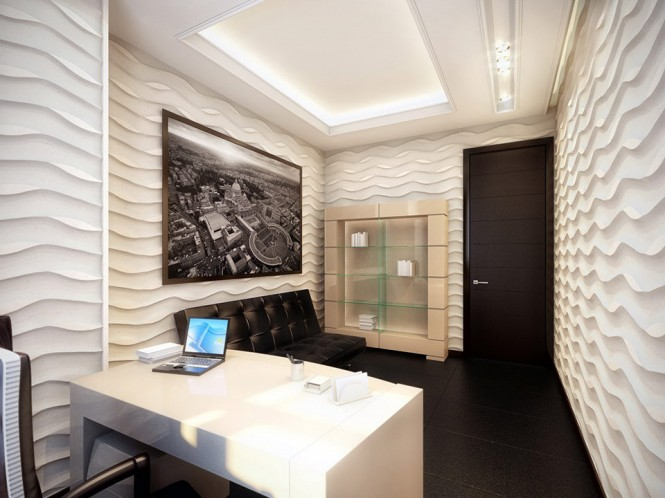 white and black office 2