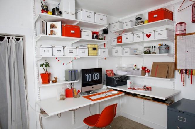 officeStylist orange white office