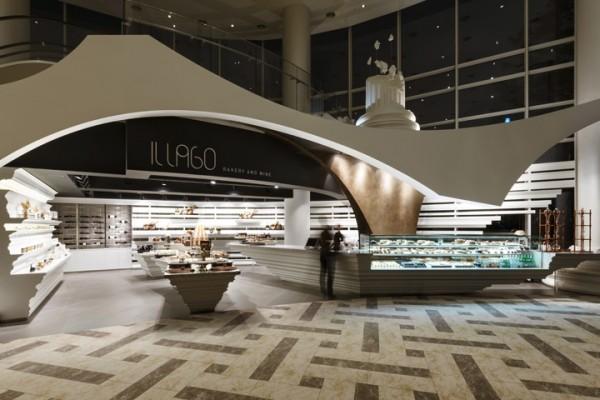hotel wine shop bakery design