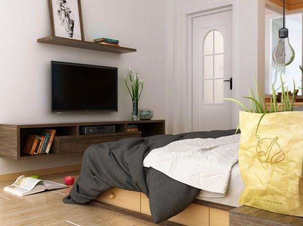 private bedroom retreat
