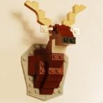 レゴブロックを飾る