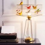 鳥かごがモチーフの照明 la voliere