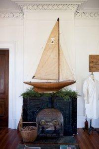 マリンディスプレイ:ボートを飾る