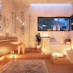 [snap]バスルームのライトアップ